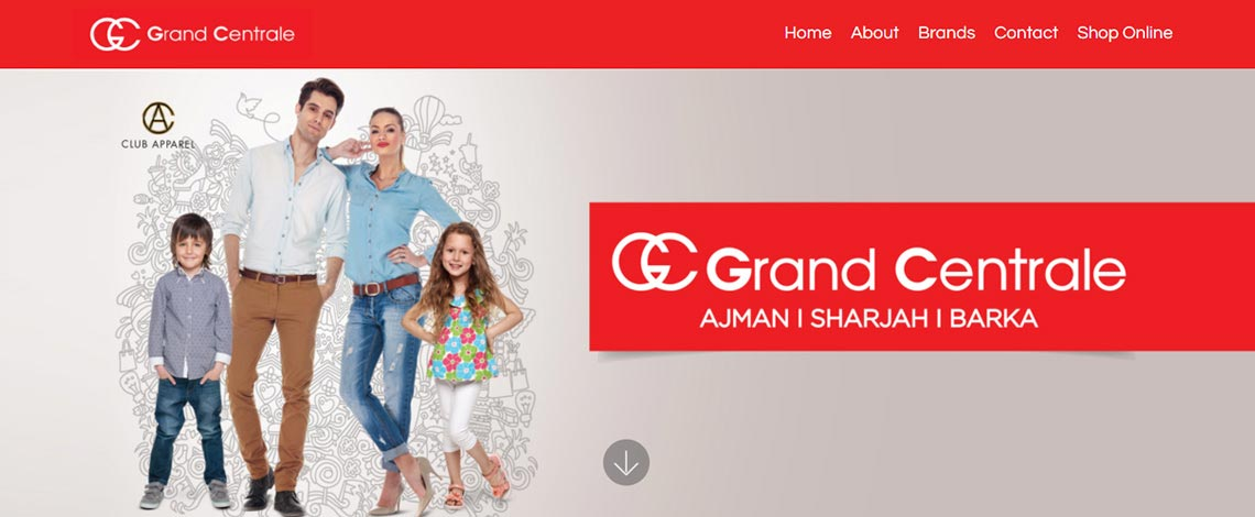 Grand Centrale Website